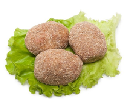 rissole with chicken, 1 kg (250 gr, 500 gr)