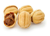 nuts (biscuit stuffed with caramel cream), kg