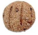 multi grain walnut & raisin  1 piece